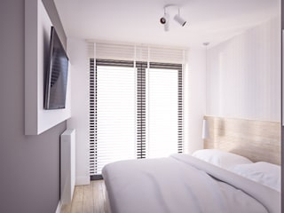 projekt wnętrz mieszkania: styl , w kategorii Sypialnia zaprojektowany przez Nova