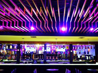 Bares y clubs de estilo moderno de Habitá Estudio Creavtivo Moderno