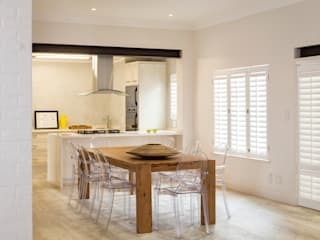 House renovations Deborah Garth Interior Design International (Pty)Ltd Minimalist dining room