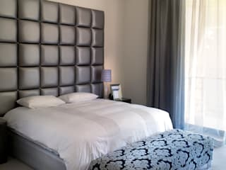New house build Deborah Garth Interior Design International (Pty)Ltd Modern style bedroom