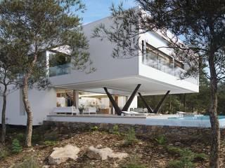 Olivo. Las Colinas. Marjal GESTEC. Arquitectura & Ingeniería Casas de estilo mediterráneo