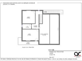Remodelação Interior Habitação Bifamiliar por arcq.o | rui costa & simão ferreira arquitectos, Lda.