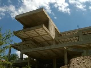 CASTELLINO ARQUITECTOS (+) 現代房屋設計點子、靈感 & 圖片 水泥