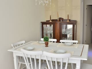 Classic style dining room by Paula Ferro Arquitetura Classic