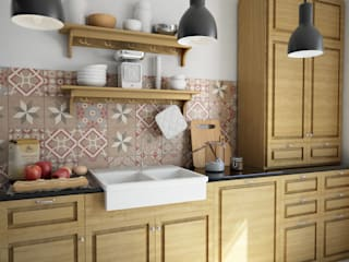 Rustic style kitchen by olivia Sciuto Rustic