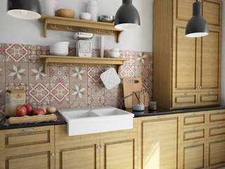 Cocinas rústicas de olivia Sciuto Rústico