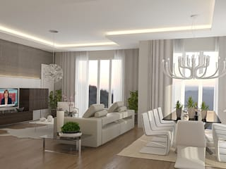 ELA PREMIUM 2 Modern Oturma Odası Pronil Modern