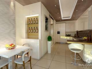 Appartamento 144 - in vendita a Campione d'Italia: Cucina in stile  di Baldantoni Group
