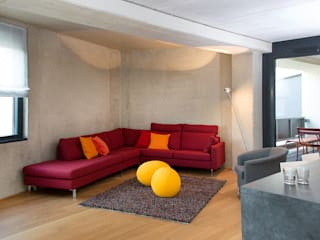 Livings de estilo minimalista de Beilstein Innenarchitektur Minimalista
