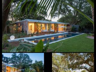Casas de estilo moderno por studioWTA