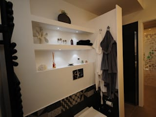 Bagno Bath room Baños de estilo moderno de Fabiola Ferrarello Moderno Azulejos