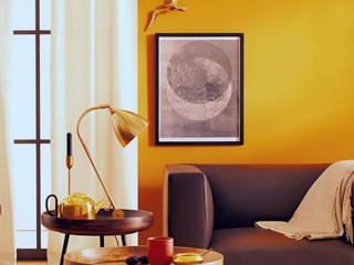 India: moderne Wohnzimmer von SCHÖNER WOHNEN-FARBE