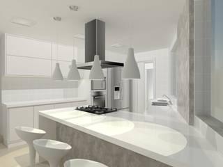 Cozinha Bastos: Cozinhas  por PorcaroAlves Arquitetura