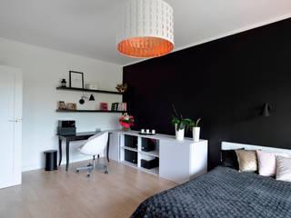 Sesja zdjęciowa mieszkania w Rembertowie dla Boho Studio: styl , w kategorii Salon zaprojektowany przez Archilens Fotografia wnętrz i architektury
