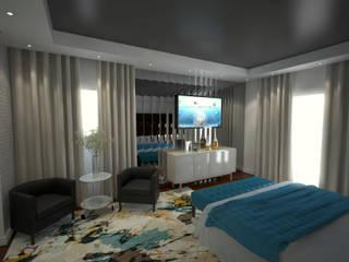 Master Suite Quartos modernos por Tiago Martins - 3D Moderno