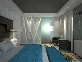 Modern style bedroom by Tiago Martins - 3D Modern