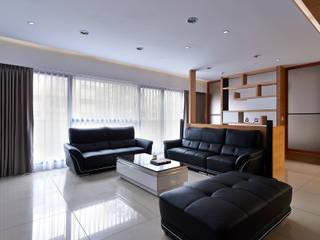 瓦悅設計有限公司 Salon moderne