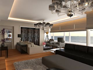 Moderne Wohnzimmer von Pronil Modern
