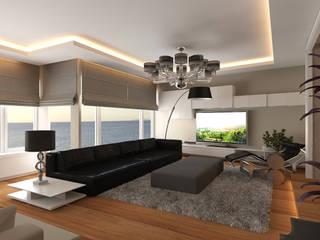 Asım Bey Evi Modern Oturma Odası Pronil Modern