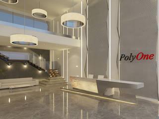 Polyone Plastik Hammadde Fabrikası Modern Duvar & Zemin Pronil Modern