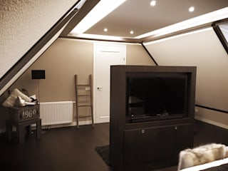 Sooph Interieurarchitectuur Klassieke slaapkamers Hout Bruin