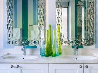 Eclectic style bathroom by The Painted Door Design Company Eclectic