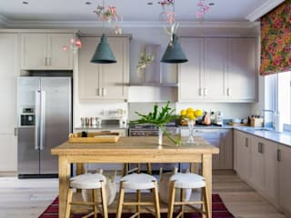 The Painted Door Design Company Eclectic style kitchen