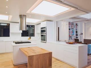 Apto Cr 19 - Cll 88: Cocinas de estilo  por Bloque B Arquitectos