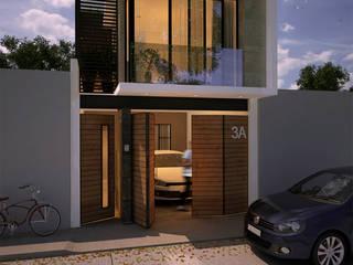Casas estilo moderno: ideas, arquitectura e imágenes de FERAARQUITECTOS Moderno