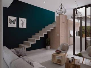 Livings de estilo minimalista de FERAARQUITECTOS Minimalista