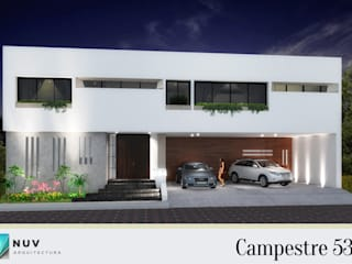 NUV Arquitectura Single family home Concrete White