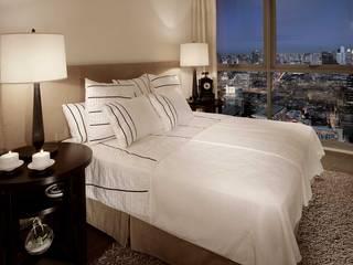 The River HB Design Pte Ltd Asian style bedroom