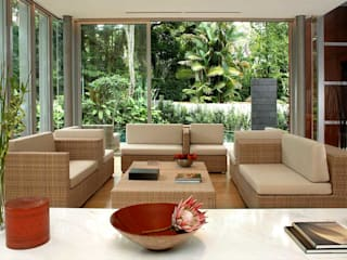 Asian style living room by HB Design Pte Ltd Asian