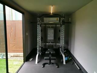 ตู้ 20 ฟุต ห้องออกกำลังกาย โดย ออบหลวงคอนเทนเนอร์ โมเดิร์น
