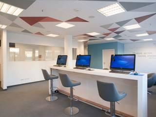 Umbau von Büroflächen Moderne Bürogebäude von HELL ARCHITEKTEN Modern