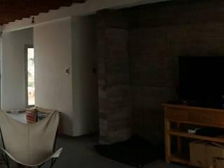 Vivienda Pro.Cre.Ar. Livings modernos: Ideas, imágenes y decoración de CAB Arquitectura ccab.arquitectura@gmail.com Moderno