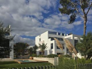 Appartementhaus Alcudia Moderne Häuser von CIP Architekten Ingenieure Modern