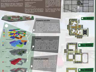 Institución Educativa Sucre - IES:  de estilo  por Arkitecturas KCS
