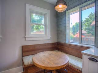 Cozy Bungalow by Dahl House Design LLC Eclectic