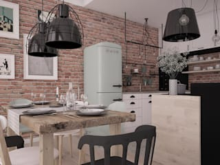 Kitchen by Progetti Architektura