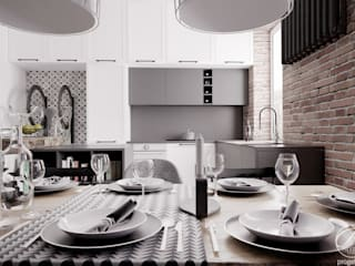 Modern style kitchen by Progetti Architektura Modern