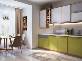 Minimalist kitchen by Polygon arch&des Minimalist