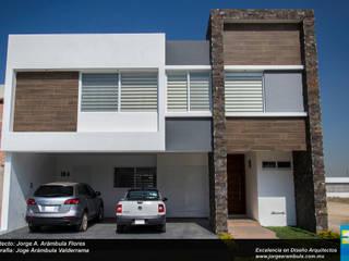 RESIDENCIA GACO Casas minimalistas de Excelencia en Diseño Minimalista