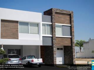 Minimalist house by Excelencia en Diseño Minimalist Stone