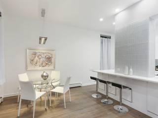 Salas de jantar minimalistas por Atelier036 Minimalista