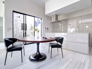 Dining room by TERAJIMA ARCHITECTS, Modern