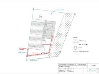 Déclaration préalable de travaux - Création d'une clôture: Maisons de style  par Crhome Design