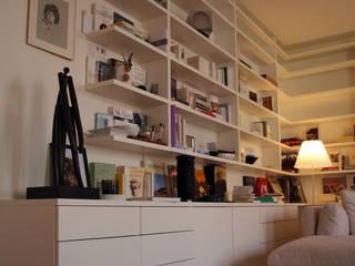 Salas de estilo minimalista de La C.S.T Minimalista