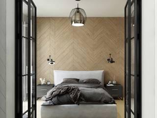 MIKOŁAJSKAstudio Eclectic style bedroom