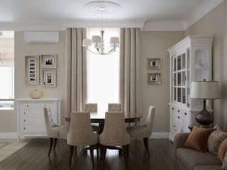 В стиле американской классики Столовая комната в классическом стиле от JoinForces studio Классический